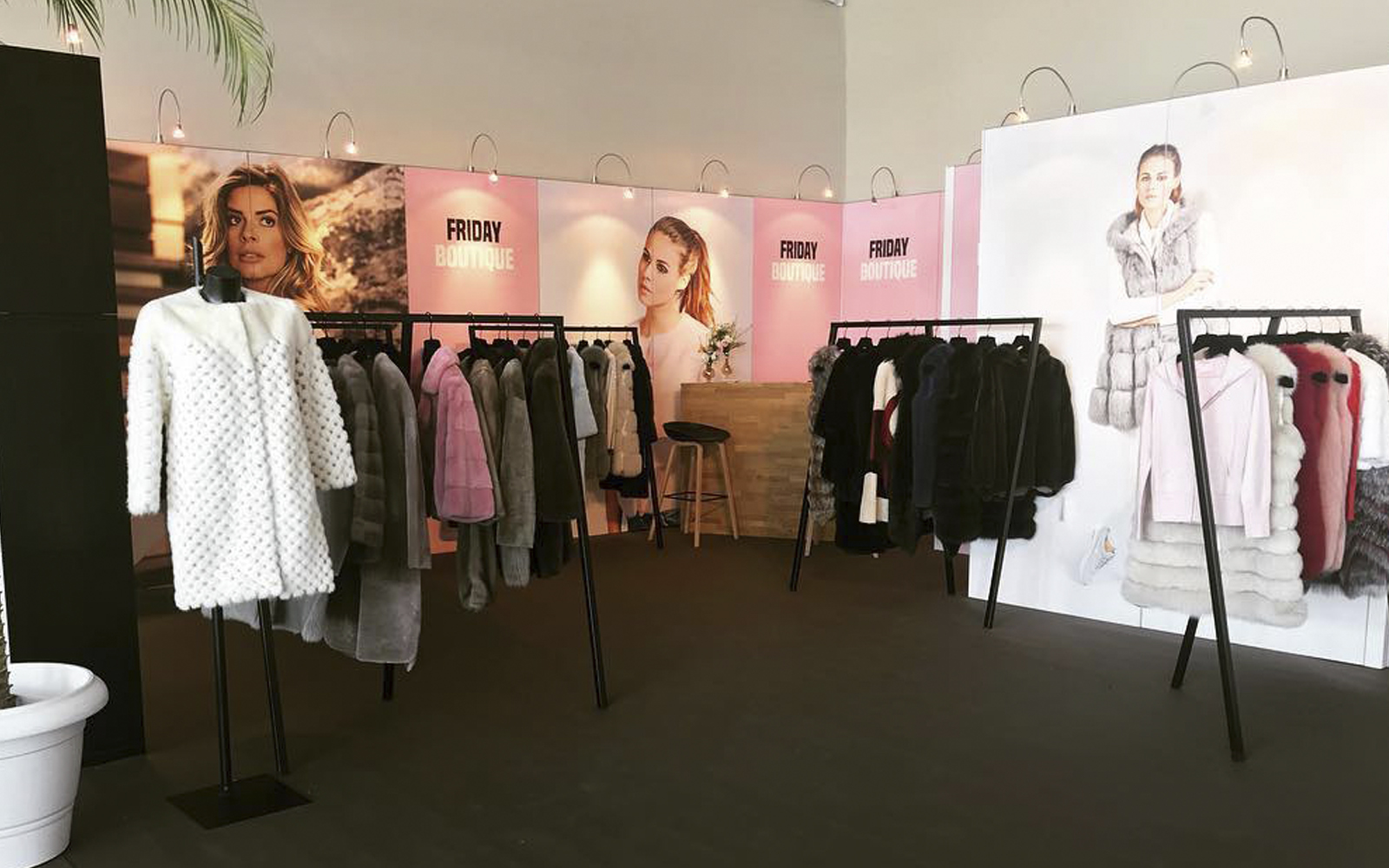 WANDMAN pop-up stores